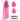 SilikonSpatel - Micromasserande Massageapparat - Panna, Kinder, Haka