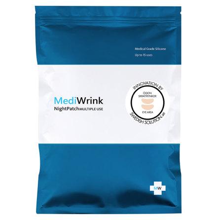 MediWrink Rynkplåster ÖGON för Kråkfötter Skrattrynkor Ögonrynkor -2st