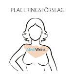Rynkplåster - Dekolletage Urringning Bröstrynkor