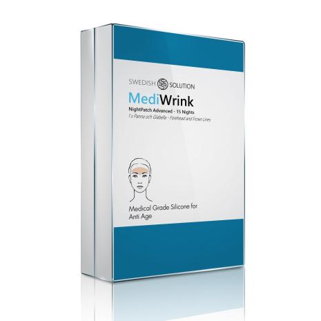 MediWrink Advanced - Plåster för Panna och argrynka