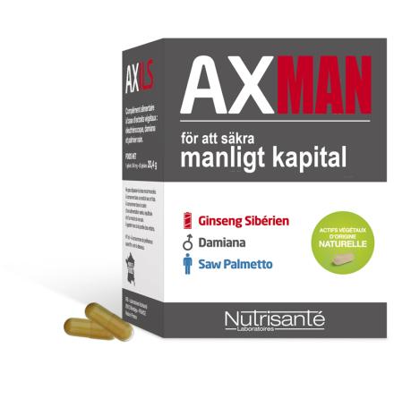 AXMAN VIRILITET Säkra Manligt Kapital kapslar   Köp1Få2