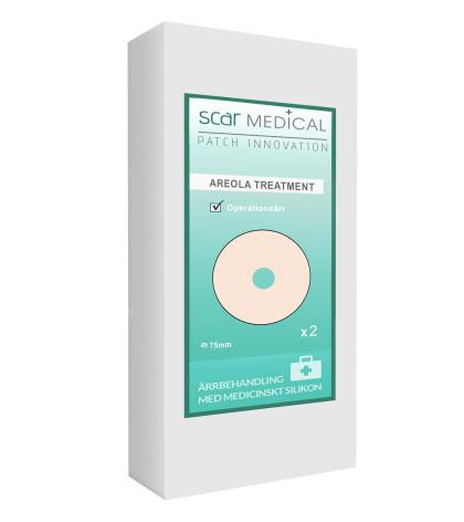 Ärrplåster av Medicinskt Silikon I  Behandlar Ärr från Bröstoperation I  AEROLA HUDFÄRG